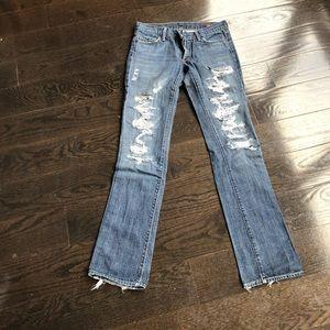 Citizen of Humanity Kelly 001 Bot Cut Jeans sz 26